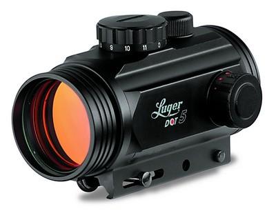 Reflexvisiere im Test - Luger Dot 5