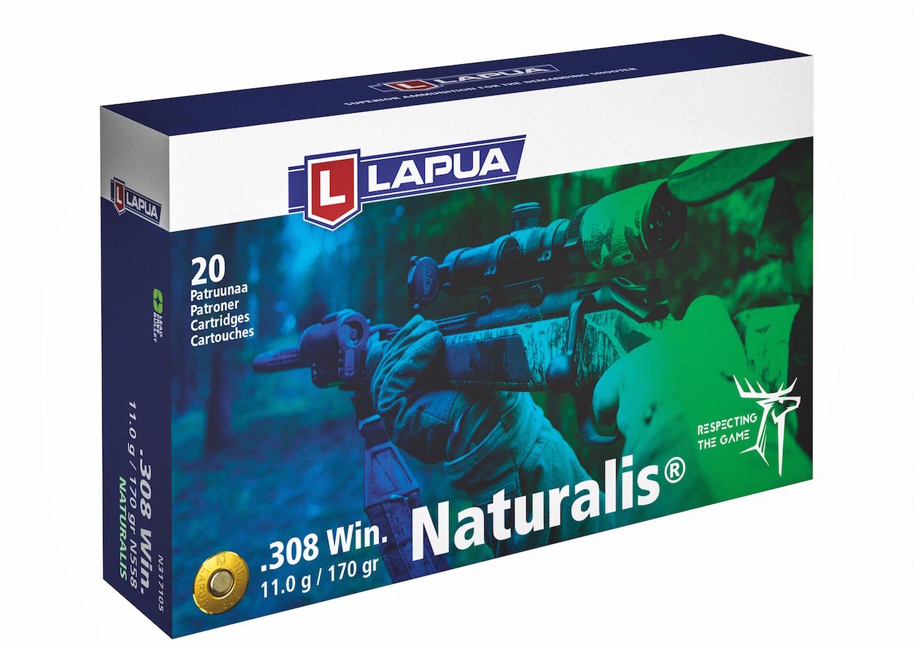 Lapua Naturalis .308 - Das Besondere: das 100-prozentige Restgewicht des Geschosses nach der Expansion ©Hersteller