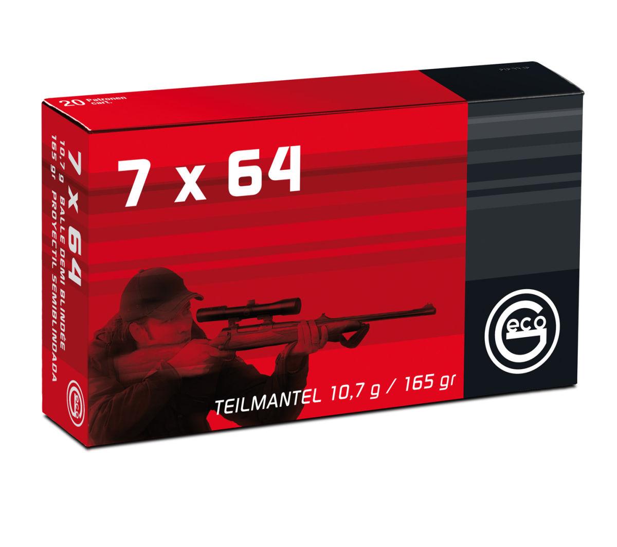 7x64 - Ein rasantes Geschoss - gut für die Drückjagd ©Hersteller